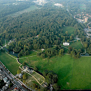 Aerial of Park Sonsbeek in Arnhem, Gelderland, the Netherlands. Wikimedia Commons:Mdavids