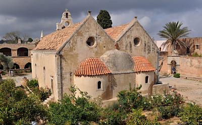 Arkadi Monastery complex in Crete, Greece. Flickr:Claudia Schillinger