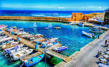 Chania in Crete, Greece. Flickr:r chelseth