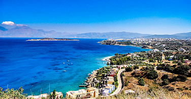Beautiful blue waters surround Crete, Greece. Flickr:Andy Montgomery