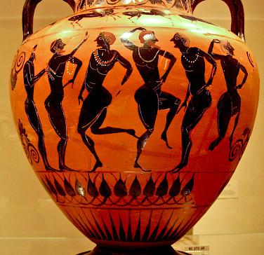 Greek pottery for sale. Flickr:Sharon Mollerus