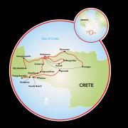 Ilha de Creta Mapa