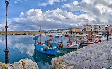 Venetian Harbor in Rethymnon, Greece. Flickr:Γιάννης Χουβαρδάς