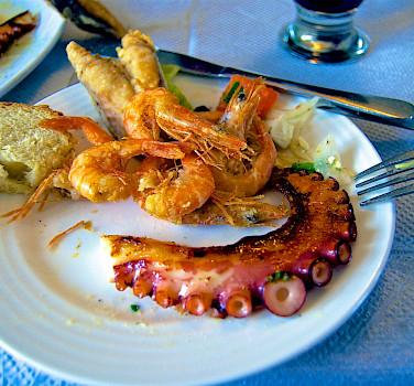 Seafood a plenty in Crete! Flickr:Ben Ramirez