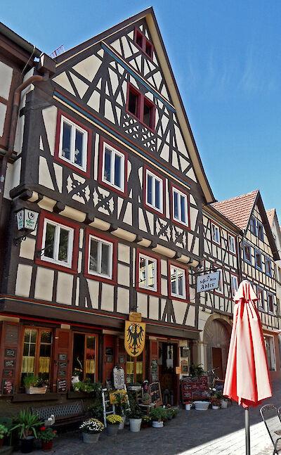Gasthaus Adler (1598), Hauptstraße 49, Bad Wimpfen, Baden-Württemberg, Germany. Flickr:onnola