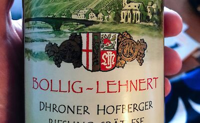Riesling is the wine this region is known for! Flickr:Dale Cruse