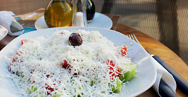 Lunch in Bitula, Macedonia. Flickr:Charlie Marchant