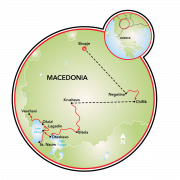 Magnificent Macedonia Map