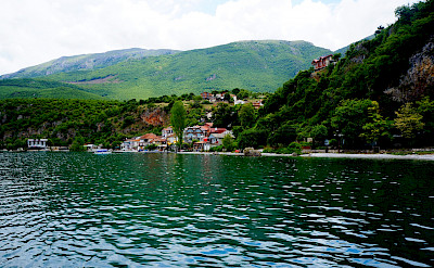 Boat trip to St Naum from Ohrid, Macedonia. Flickr:By Inge
