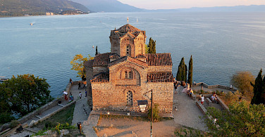 Church of St John the Theologian in Ohrid, Macedonia. Flickr:Julien Maury CC0