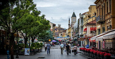 Shopping in one of the towns en route. Macedonia. Flickr:Milo van Kovacevic