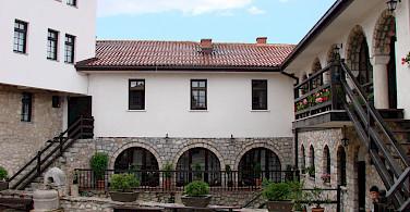 St Naum Monastery in St Naum, Macedonia. Flickr:eknutov