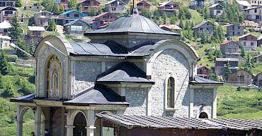 St Naum Monastery in St Naum, Macedonia. Flickr:markovskavesna