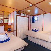 Beluga - cabin #2 | Bike & Boat Tours