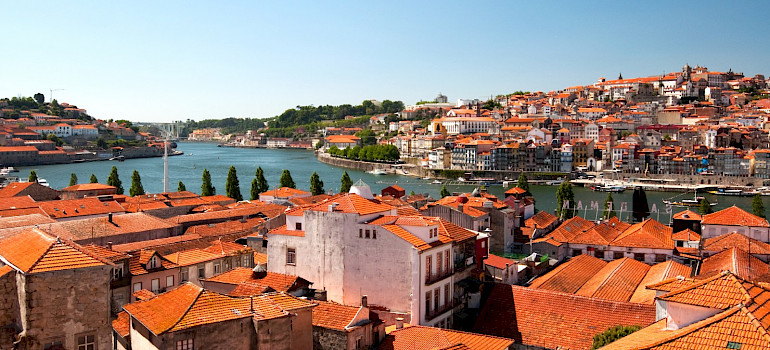 Duoro River in Porto, Portugal. Flickr:Alex Ristea