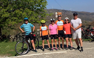 Group shot of our Bike Tour through northern Portugal. Photo via TO