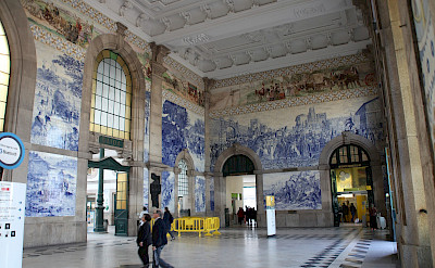 Just look at the train station in Porto! Flickr:Rick Ligthelm