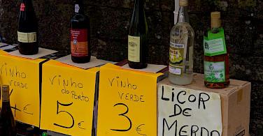 Perhaps a quick glass of wine to fuel the bike ride through Valença, Portugal. Flickr:Mario Sanchez Prada