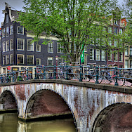 Beautiful architecture in Amsterdam, North Holland, the Netherlands. Flickr:vgm8383