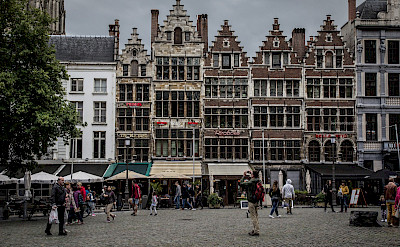 Main square in Antwerp, Belgium. Flickr:Leonardo Angelini