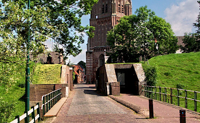 Entering Heusden in North Brabant, the Netherlands. Flickr:bert knottenbeld