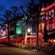 Evening stroll on the Vrijthof in Maastricht, Limburg, the Netherlands. Flickr:Jorge Franganillo