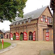 Stables at the Castle de Haar in province Utrecht, the Netherlands. Flickr:Dennis Jarvis