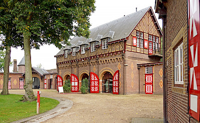 Stables at the Castle de Haar in province Utrecht, the Netherlands. Flickr:Dennis Jarvis
