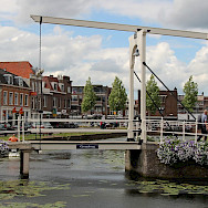 Traditional Dutch bridge in Weesp, North Holland, the Netherlands. Flickr:bert knottenbeld