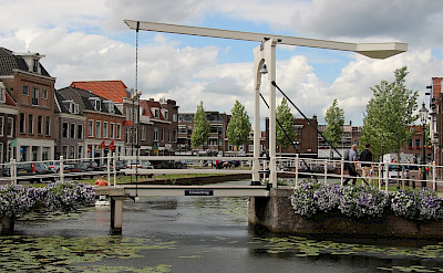 Traditional Dutch bridge in Weesp, North Holland, the Netherlands. Flickr:bert knottenbeld