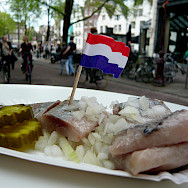 Herring is perhaps the most famous Dutch delicacy. Flickr:Wordridden