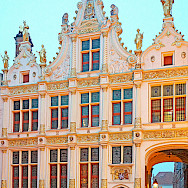 Great architecture in Bruges, West Flanders, Belgium. Flickr:Dennis Jarvis