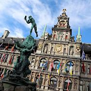 Stadhuis in Antwerp, Flanders, Belgium. Flickr:Fred Romero