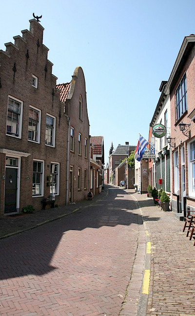 Quiet street in Tholen, Zeeland, the Netherlands. Flickr:bert knottenbeld
