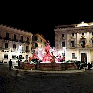Fountain in Sicily, Italy. Photo via TO