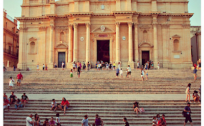 Popular Cathedral in Noto, Sicily, Italy. Flickr:Freebird
