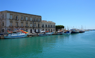 Port of Syracusa in Sicily, Italy. Flickr:Jerome Bon