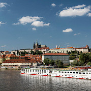 The Elbe River and Prague Photo