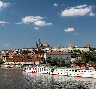 The Elbe River and Prague