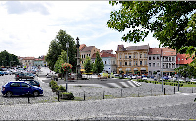 Charles Square in Roudnice nad Labem, Czech Republic. Flickr:Janos Korom Dr.