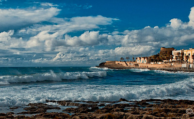 Along the coast in Salento, Puglia, Italy. Flickr:©Mike Photo Art