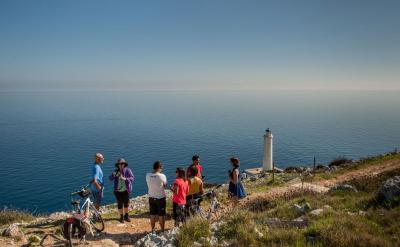 Along the coast on the Puglia - Heel of Italy Tour.