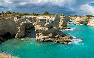 Cliffs in Puglia, Italy. Flickr:Giuseppe Milo