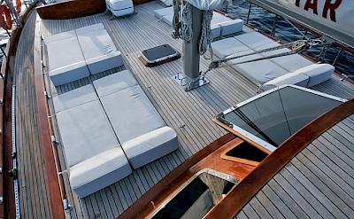 Sun deck - Silver Star II - Bike & Boat Tours