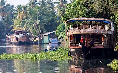 Backwaters of Alleppey, Kerala, India. Flickr:SilverBlu3