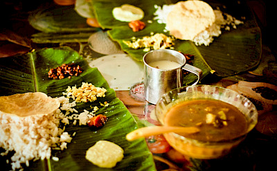 Amazing curry dishes in Kerala, India. Flickr:Yamal