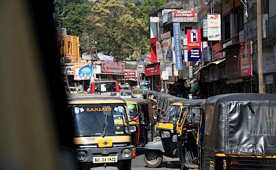 Traffic in Kerala, India. Flickr:Cleavers