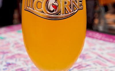 Local beer from Alsace region. Flickr: Tambako The Jaguar