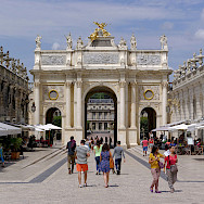Place Stanislas is not to be missed in Nancy, France. Wikimedia Commons:Berthold Werner