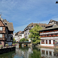 Rhine River through Strasbourg in Alsace, France. Flickr:Alexandre Prevot
